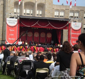 May, 2012 graduation ceremony