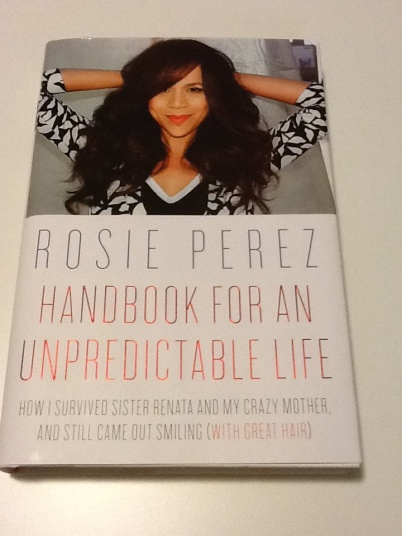 Cover of Rosie Perez's autobiography