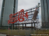 Pepsi sign in Long Island City