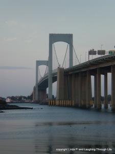 bridge just before dusk