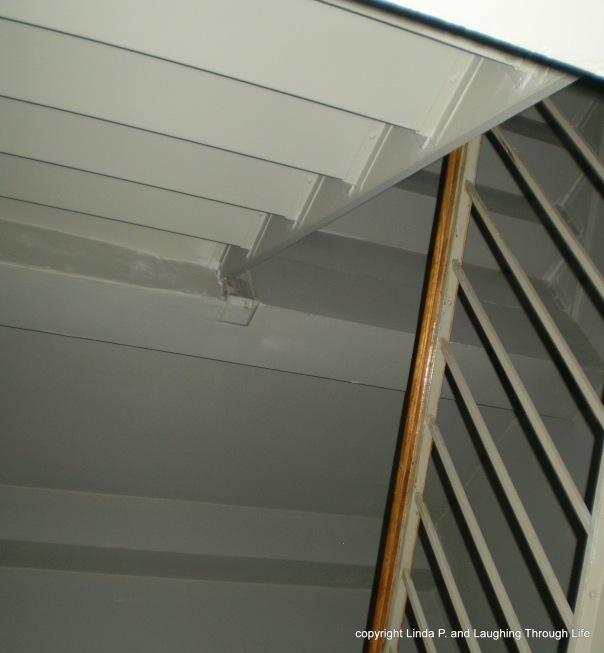 Interior stairwell (lit)