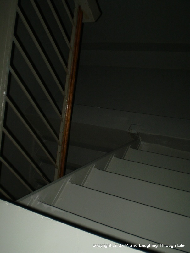 Interior stairwell (dark)