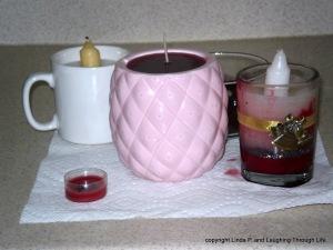 weird candles