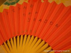 A fan of Summer