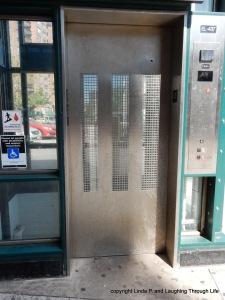 Subway elevator grid
