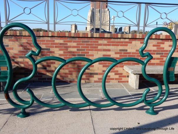 Seahorse bike rack?