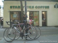 London 2012. I was amused to see so many Starbucks shops.