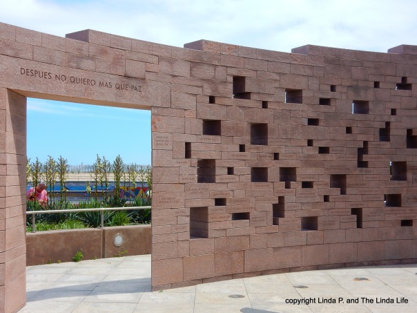Afterwards I Only Want Peace at AA 587 memorial Rockaway