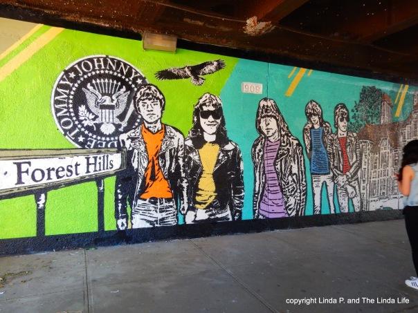 The Ramones mural 6-12-16