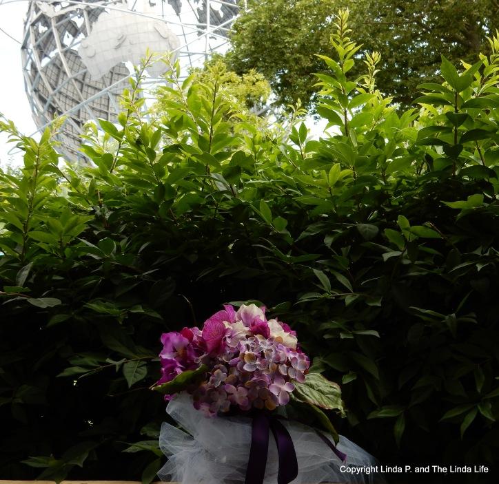The Unisphere at Flushing Meadows Corona Park 6-19-17