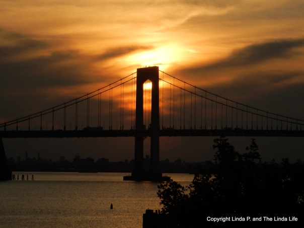 Bronx-Whitestone Bridge at Sunset