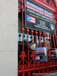 Corona NYC firehouse collection site for Puerto Rico relief