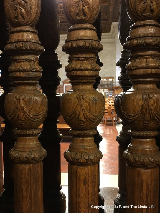 Ornate Balusters/Balustrade at NYPL Stephen A. Schwarzman Building on Fifth Avenue