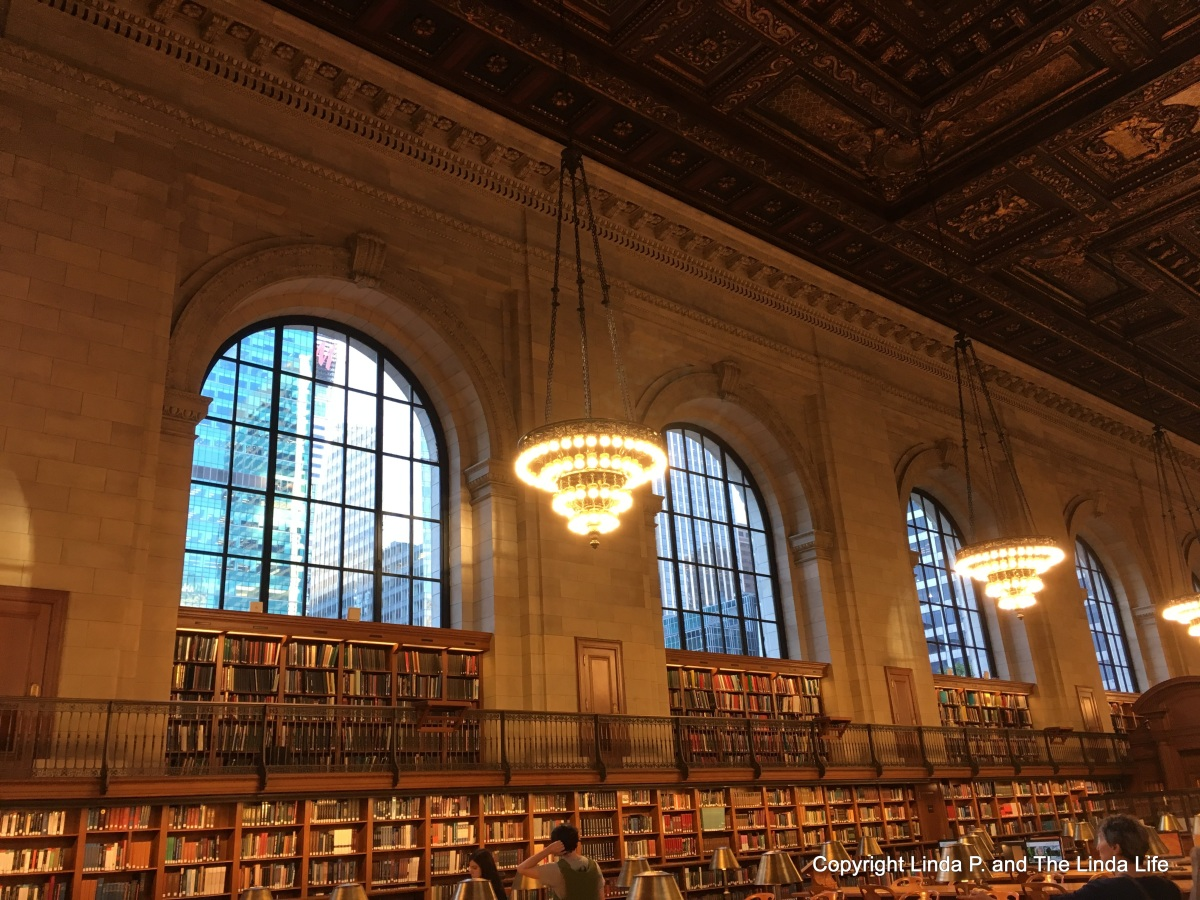 Rounded at the New York Public Library