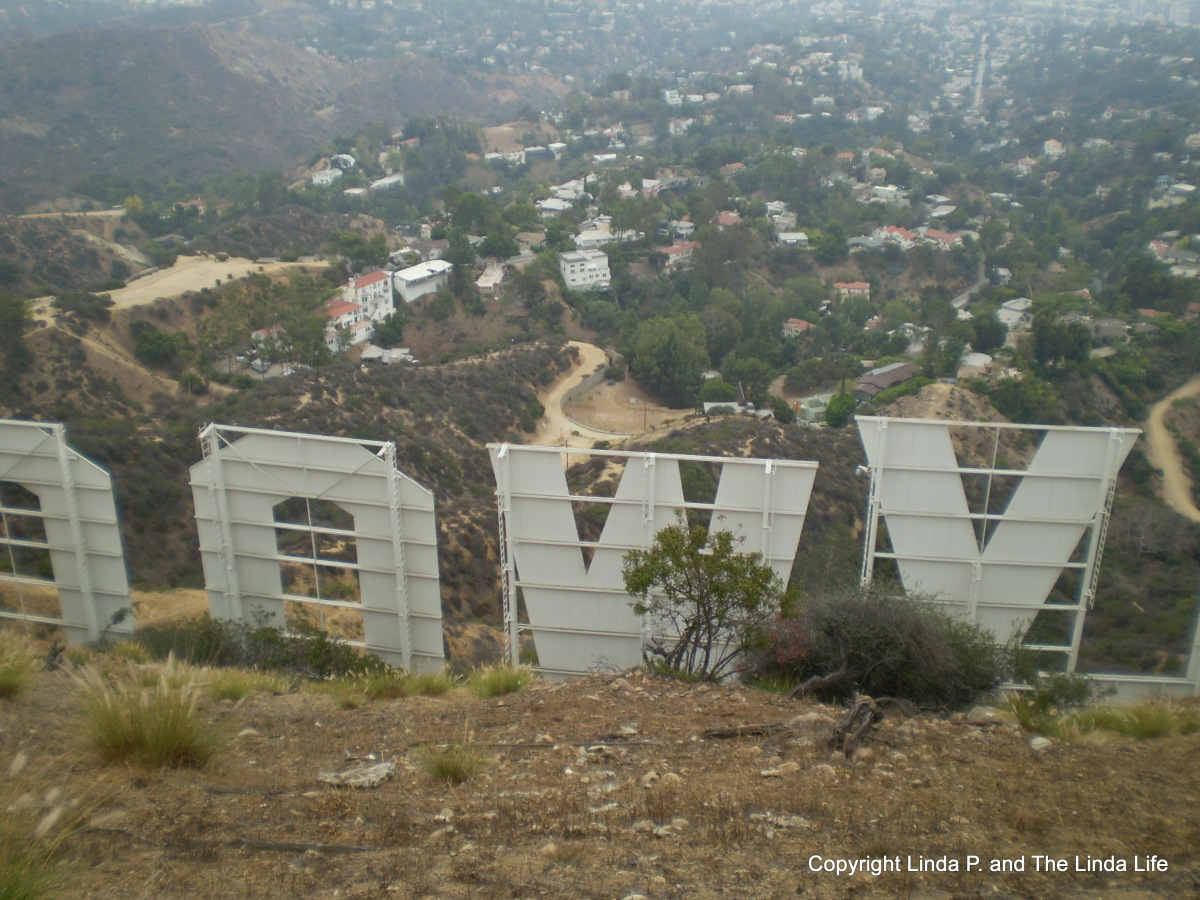 The Hollywood Sign and Tiny Houses