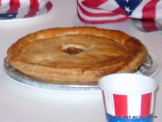 Pie, Apple Pie, Patriotic Pie