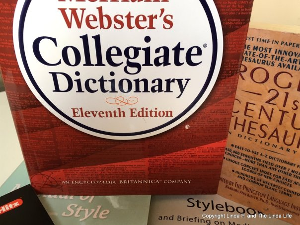 Dictionary. Thesaurus, Style Guides