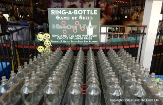FOREST PARK, NYC Bottle game