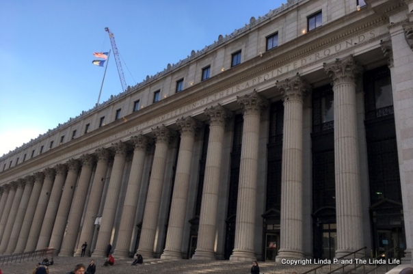 Farley Post Office over Penn Station NYC
