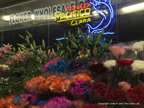 Flowers and Cerveza, Second Avenue, NYC-001